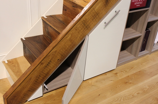 Izkoristek prostora pod stopnicami