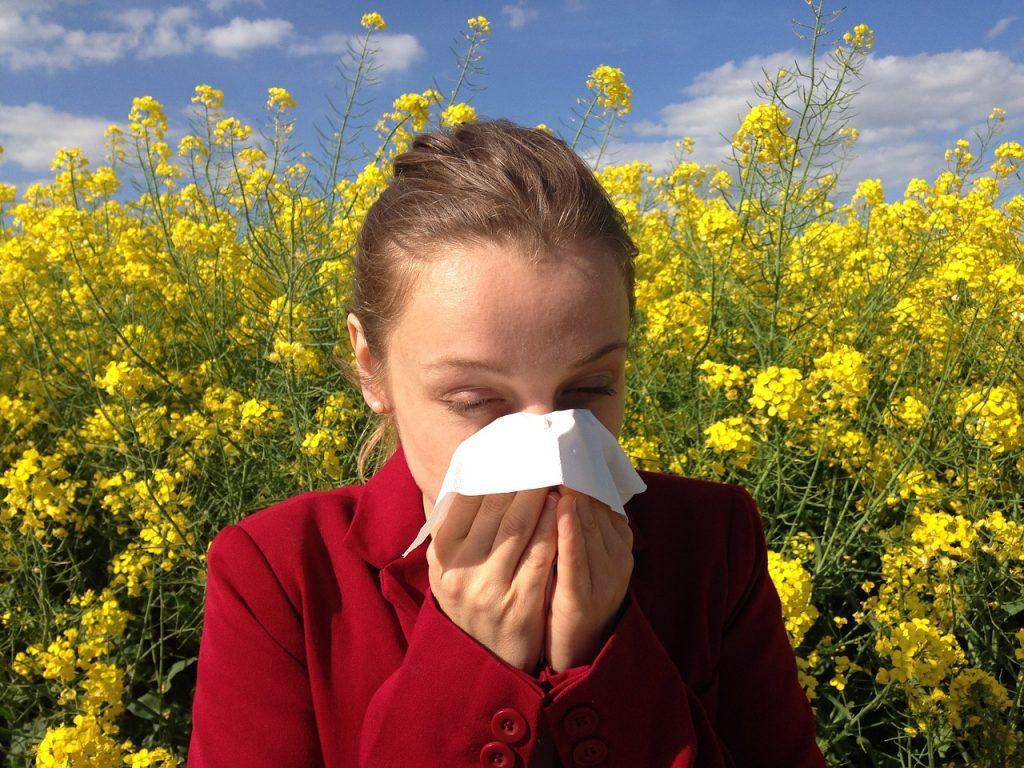 Očesni vid in alergije