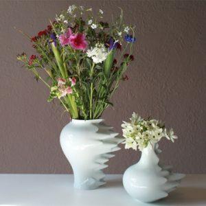 najlepše vaze iz porcelana v beli barvi