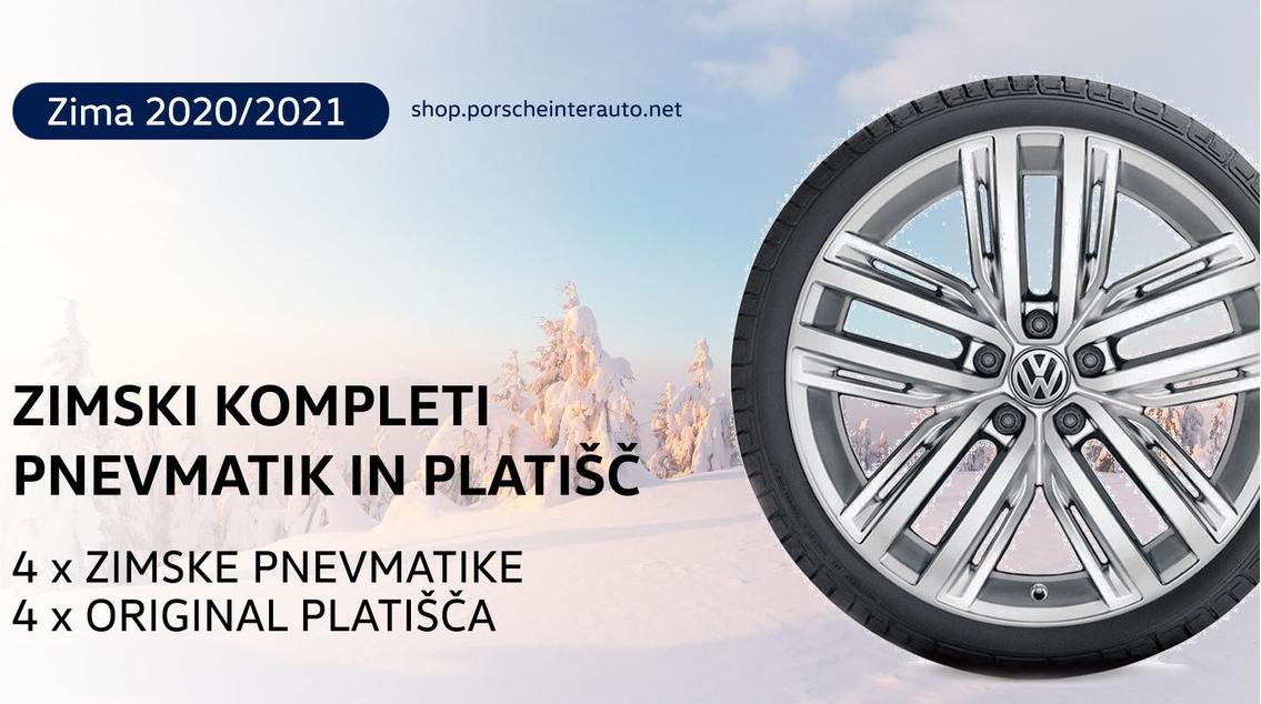 Zimski kompleti platišč in koles - Porsche Inter Auto